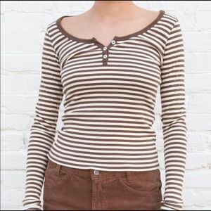Brandy striped long sleeve